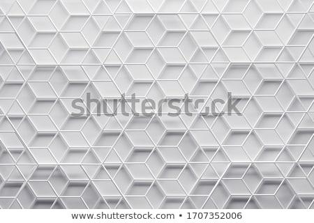 Cuadros 3D patrón banner violeta azar Foto stock © make