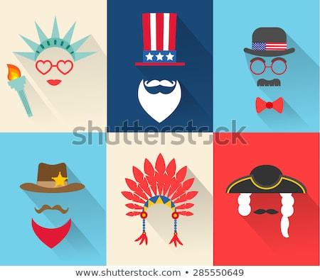 isolado · branco · Estados · Unidos · américa · lei - foto stock © bigalbaloo