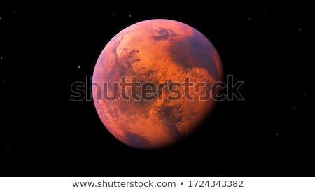 The planet Mars, space exploration, science and astronomy Stock photo © studiostoks