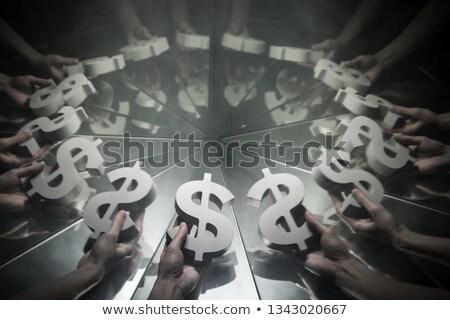 hand reaching from smoke Stock photo © arts