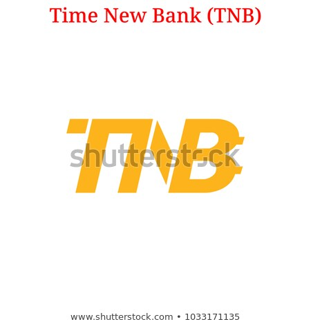 Time New Bank Crypto Currency - Vector Logo. Stock photo © tashatuvango
