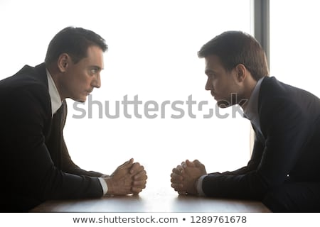 business sharks talk to each other stock photo © rogistok