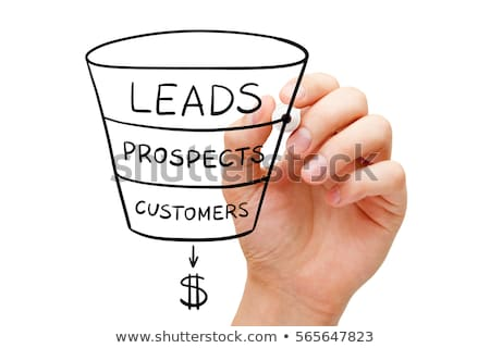 Lead Generation Business Sales Funnel Concept Stock photo © ivelin