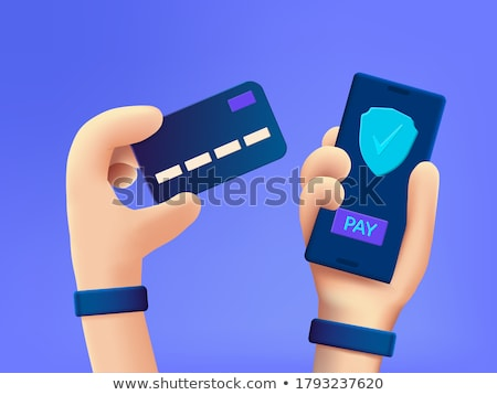 electronic commerce buy and sell cartoon banner stock photo © robuart