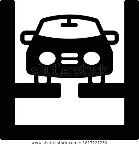 auto · servizio · illustrazione · icone · web · design · sottile - foto d'archivio © tashatuvango