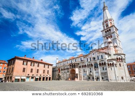 Cathédrale Italie perspectives vue ciel église Photo stock © boggy