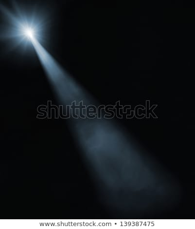 A ray of light on a dark background in a cage Stock photo © Andreyfire