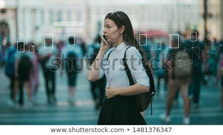 アイデンティティ 人 顔 音声 認識 タッチ ストックフォト © jossdiim