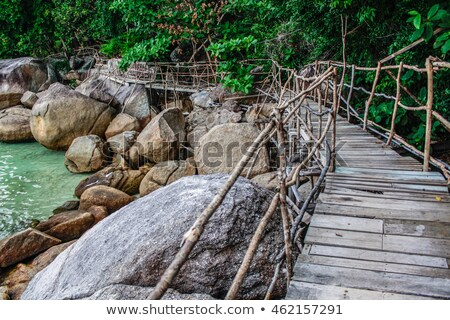 praia · mar · Tailândia · belo · natureza · paisagem - foto stock © Yongkiet