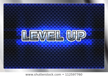 Stock photo: Set of Screens of Level Colorful Pixel Game Vector