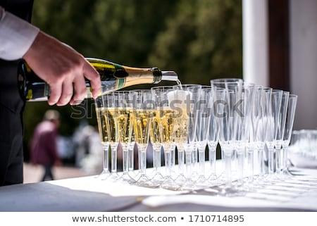 barman · cocktail · bril · bar · glas - stockfoto © dashapetrenko