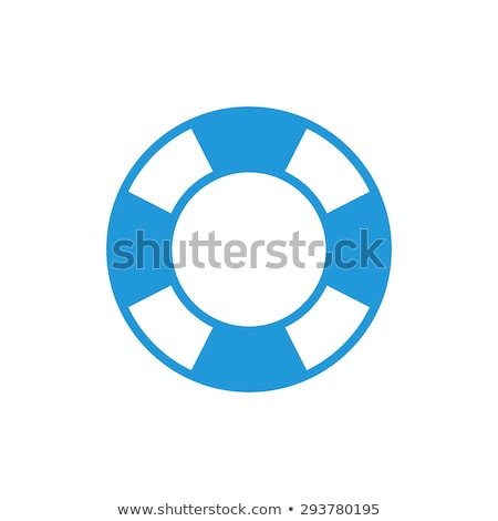 vector flat outline lifebuoy, life buoy icon Stock photo © VetraKori