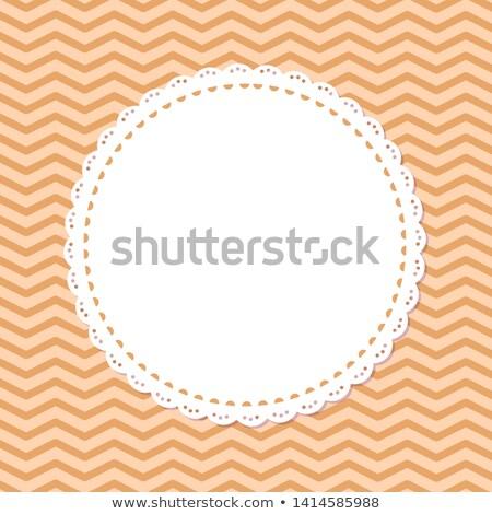 Retro fölösleges hely keret vektor izolált Stock fotó © robuart