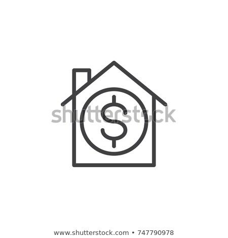 dollarteken · geïsoleerd · icon · witte · business · geld - stockfoto © kyryloff
