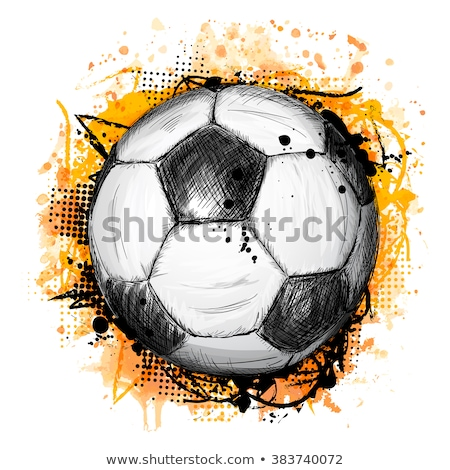 sports hand drawn vector doodles illustration activities poster design stock photo © balabolka