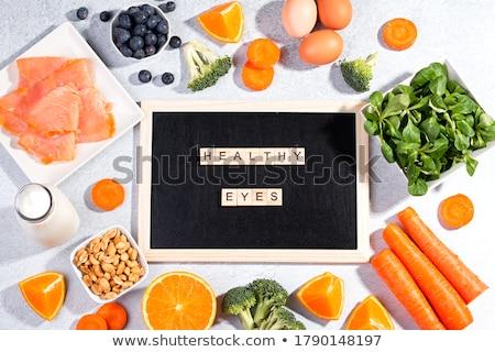 conjunto · cereais · secas · peixe · comida · saúde - foto stock © furmanphoto