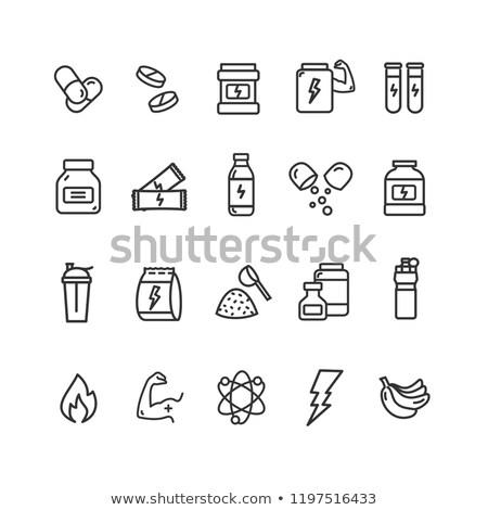 hapları · örnek · su · sağlık · gaz · bakım - stok fotoğraf © pikepicture