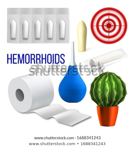 Hemorrhoids Medical Problem Collection Set Vector Stock photo © pikepicture