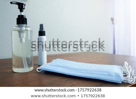 Coronavirüs önleme el jel temizlik virüs Stok fotoğraf © Maridav
