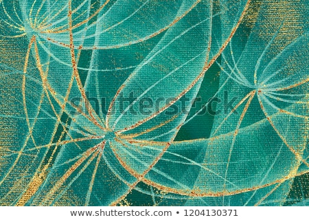 Photo stock: Wooden Abstract Background With Flowers Of Dandelion