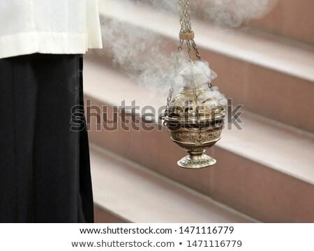 incence burning Stock photo © smithore