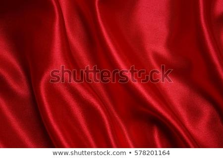 Rosso tessuto ripple abstract sfondo Foto d'archivio © taden