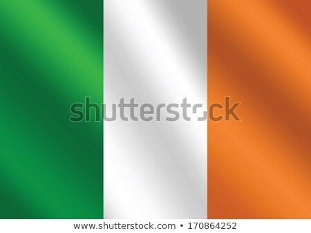 Zászló Írország témák ötlet terv háttér Stock fotó © kiddaikiddee