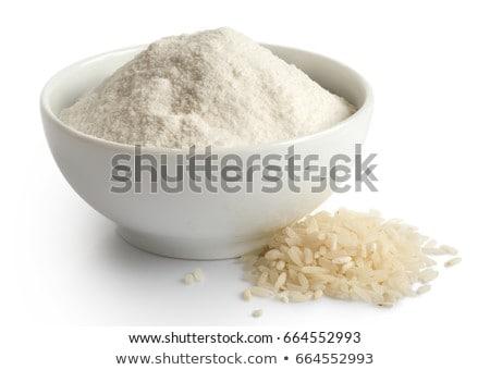 Stock fotó: Rizs · liszt · kínai · étel · sárgarépa · étterem · asztal