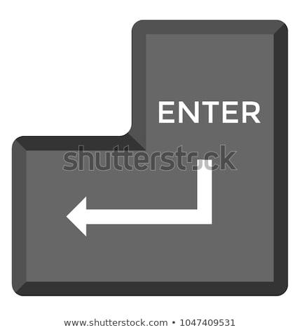 Enter key Stock photo © fuzzbones0