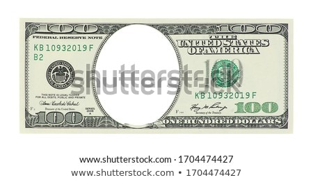 Stack of One Hundred Dollar Bills Isolated stock photo © feverpitch