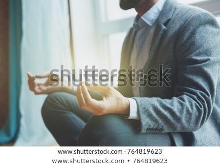 Mediteren zakenman man werk zakenman oefening Stockfoto © Paha_L