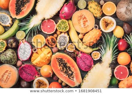 エキゾチック · ブルーベリー · テクスチャ · いい · 食品 · 背景 - ストックフォト © tekso