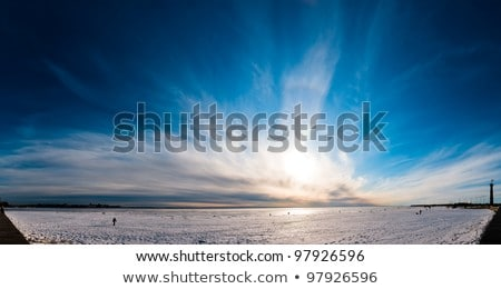 美しい 劇的な 空 青 海 風光明媚な ストックフォト © AndreyPopov