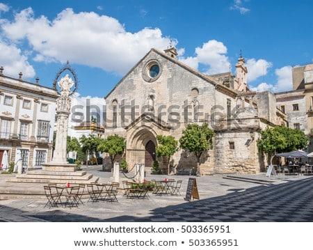 Templom LA Spanyolország spanyol római katolikus Stock fotó © borisb17