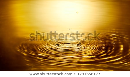 Golden rippled surface Stock photo © montego