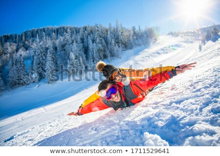 four teenagers loving sport Stock photo © photography33