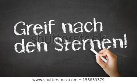 reach for the stars in german stock photo © kbuntu