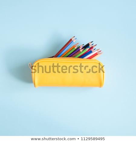 pencil case isolated Stock photo © M-studio