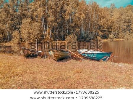 empty boat Stock photo © taden