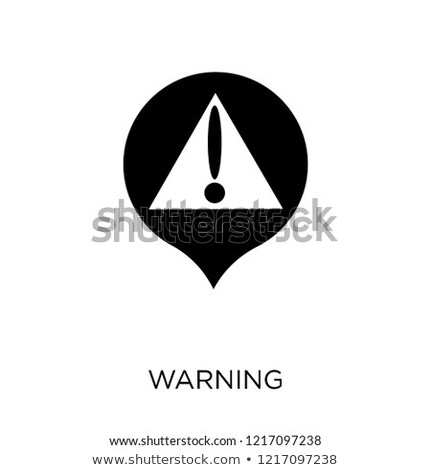Security Concept - Small Flag on a Map Background. Stock photo © tashatuvango