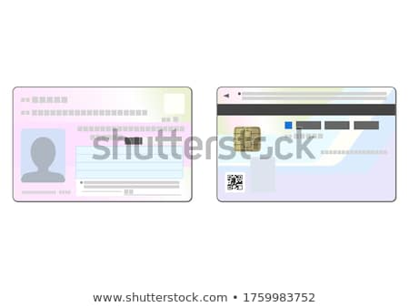 Number cards stock photo © colematt