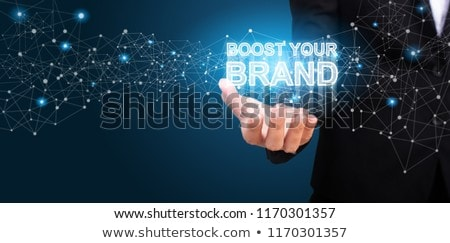 Marketing Services. Brand Boosting. Stock photo © olivier_le_moal
