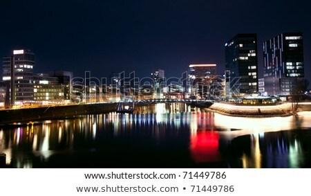 city view of Duesseldorf Stock photo © prill