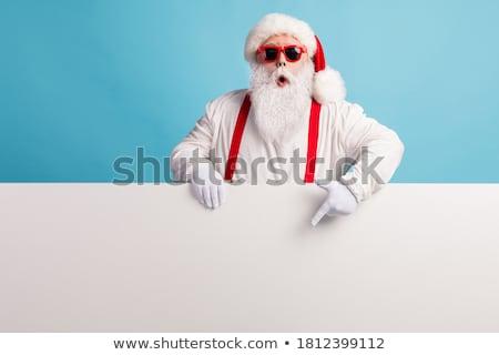 Santa board Stock photo © Wetzkaz