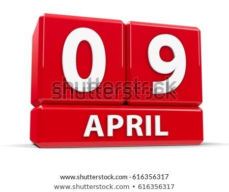 9th April Stock photo © Oakozhan
