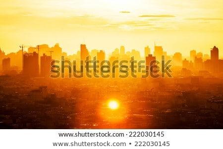 prédio · comercial · negócio · centro · brilhante · colorido · escritório - foto stock © janpietruszka