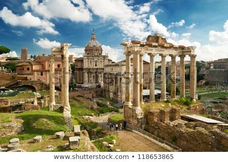 Top · мнение · римской · форуме · Рим · Италия - Сток-фото © ankarb