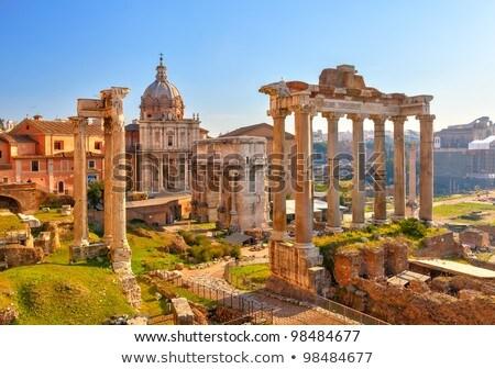 форуме римской руин Рим Италия известный Сток-фото © neirfy