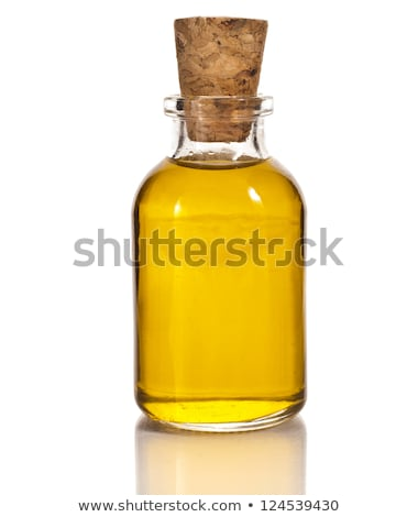 Vegetable Oil in Glass Bottle, Liquid for Cooking Stock photo © robuart