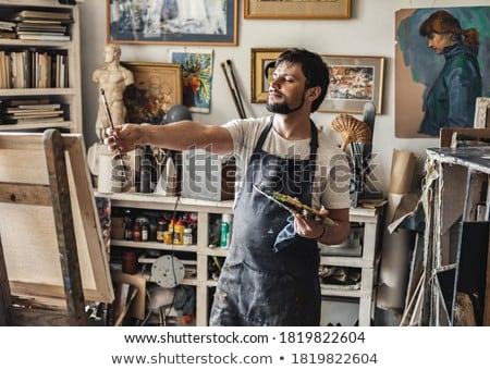 a male painter stock photo © photography33